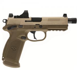 """FN Herstal FNS-40 .40 S&W 14+1 4"""" Pistol in Black (Threaded Barrel) - 66938"""