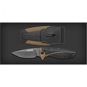 "Gerber Myth Manual Folding Knife, 3.5"" Drop-point Blade - 31-001164"