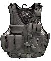 Galati Gear Tactical Vest in Nylon Black - Medium