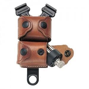 Galco International Speedloader Case Revolver 32 Speedloader Pouch in Tan Smooth Leather - SSL32