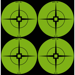 "Birchwood Casey 33933 Target Spots 3"" Green Crosshair Self-Adhesive 40 Pack"