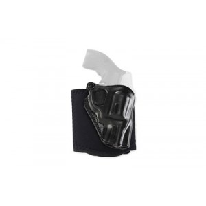 "Galco International Ankle Glove Right-Hand Ankle Holster for J-Frame in Black (2"") - AG158B"