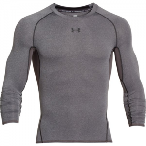 Under Armour HeatGear Men's Undershirt in Carbon Heather - Medium