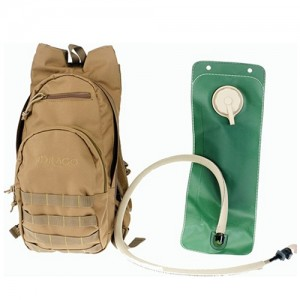 Drago Gear Tan Hydration Pack 600 Denier Polyester 11301TN