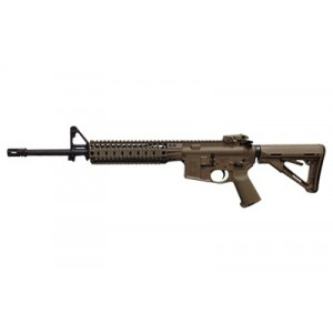 """Spike's Tactical Midlength .223 Remington/5.56 NATO 30-Round 16"""" Semi-Automatic Rifle in Flat Dark Earth (FDE) - STR5035-R9S"""