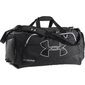 Under Armour Undeniable Storm Abrasionproof Duffel Bag in Black 600D Polyester - 1256545001OSFA