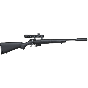 """CZ 527 American .300 AAC Blackout (7.62x35mm) 16.5"""" 5+1 Bolt Action Rifle with Synthetic Black Stock - 03085"""