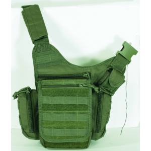Voodoo Ergo Waterproof Sling Backpack in OD Green - 15-935504000