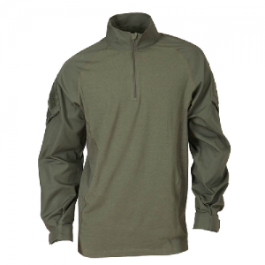 5.11 Tactical Rapid Assault Men's Long Sleeve Shirt in TDU Green - Medium