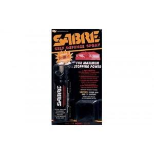 Sabre Pepper Spray, Home Unit, 2.5oz, Red Pepper, Cs Tear Gas & Uv Dye Hm-80