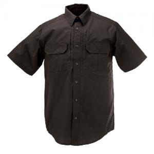 5.11 Tactical Pro Men's Uniform Shirt in Black - Small