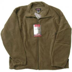 Tru Spec Polar Fleece Men's Full Zip Jacket in Foliage - 2X-Large