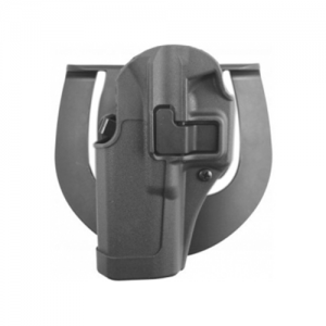 Blackhawk Serpa Sportster Right-Hand Belt Holster for Smith & Wesson 4000 in Grey - 413510BK-R