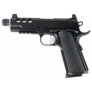"""Dan Wesson Discretion Commander .45 ACP 8+1 5"""" 1911 in Stainless Steel - 01887"""