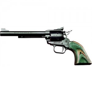 """Heritage Rough Rider Small Bore .22 Long Rifle 6-Shot 6.5"""" Revolver in Black Satin - RR22MBS6"""