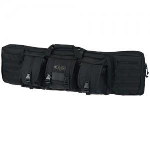 """Drago 42"""" Black Single Tactical Gun Case 600 Denier Polyester 12303BL"""