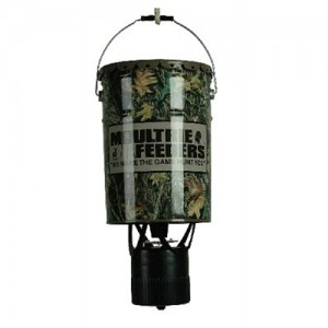 Moultrie 6.5 Gallon Hanging Feeder w/Adjustable Photocell Timer MFHEP65