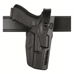 Safariland 7280 Mid-Ride Right-Hand Belt Holster for Glock 17 in STX Basketweave (W/ ITI M3) - 7280-832-481