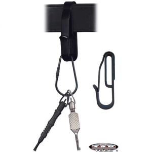 Zak Tool Key Ring holder in Black - ZAK-54