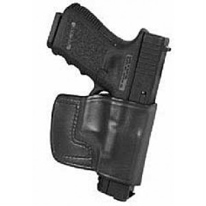 Don Hume Jit Slide Holster, Fits Keltec P3at, Right Hand, Black Leather J989025r - J989025R