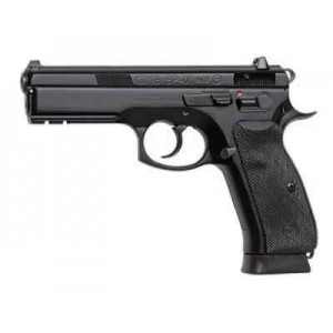 "CZ 75 SP-01 9mm 10+1 4.72"" Pistol in Black Polycoat (Tactical) - 1153"
