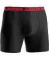 """Under Armour BoxerJock 6"""" Men's Underwear in Black - Large"""