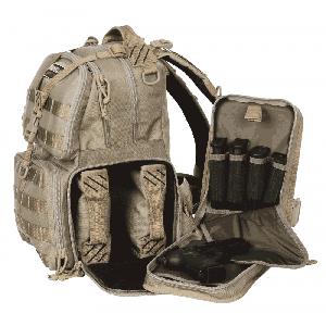 G*outdoors - Inc Tactical Range Grimeproof Range Bag Backpack in Tan 1000D Nylon w/Teflon Coating - T1612BPT