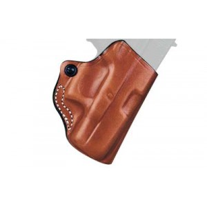 Desantis Gunhide 19 Mini Scabbard Right-Hand Belt Holster for Sig Sauer P938 in Black Leather -