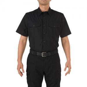 5.11 Tactical PDU Class B Men's Uniform Shirt in Black - Large