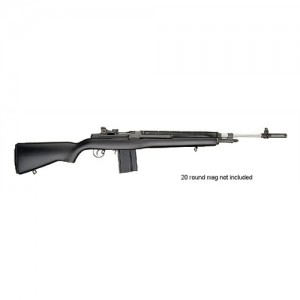 """Springfield M1A Super Match .308 Winchester 10-Round 22"""" Semi-Automatic Rifle in Douglas Stainless Steel - SA9804CA"""