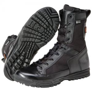 Skyweight Waterproof Side Zip Boot Color: Black Size: 12 Width: Wide