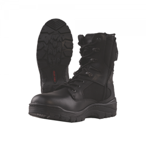 Tru-Spec Tactical Side Zipper Boots Size: 8 Width: Regular Color: Black