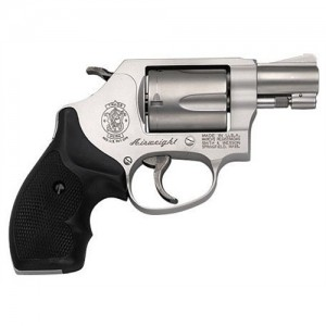 "Smith & Wesson 637 .38 Special 5-Shot 1.87"" Revolver in Matte Silver (Airweight) - 163050"
