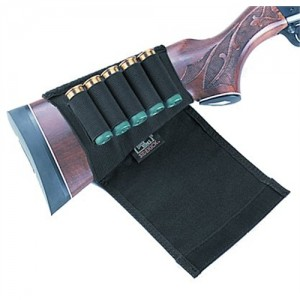 Uncle Mikes Shotgun Buttstock Shell Holder with Flap 8849
