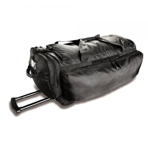 Uncle Mike's Side-Armor Roll Out Waterproof Duffel Bag in Black Polyester - 53451