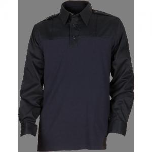 5.11 Tactical PDU Rapid Men's Long Sleeve Uniform Shirt in Midnight Navy - 2X-Large