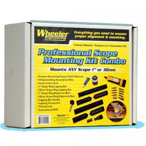 """Wheeler 545-454 Scope Mount Kit Combo 1""""/30mm"""