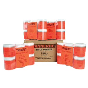 Tannerite 1/2BR Half Brick 1/2lb Exploding Targets 16/Case w/Measuring Spoon