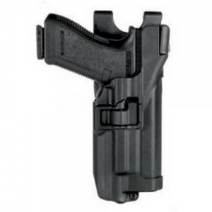Level 3 Serpa - Light Bearing Duty Holster Gun Fit: S&W M&P .40 Finish: Matte Hand: Left - 44H525BK-L