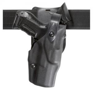 Model 6365 Low Ride ALS Duty Holster w/ SLS Finish: STX Tactical Black Gun Fit: Kimber Custom TLE/RL with Surefire X200 (5  bbl) Hand: Right - 6365-560-131