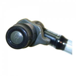 HydraStorm Bite-me Bite valve  Bite-me Bite valve  360 bite makes hydration easier Excellent flow rate Locking 360 degree rotating connector allows for bite valve removal from drink tube Easy, ergonomic On/Off lever