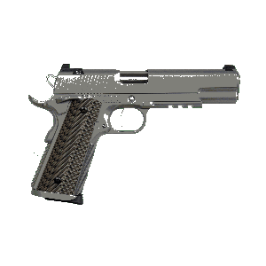 """Dan Wesson Specialist 9mm 11+1 5"""" 1911 in Matte Stainless - 01893"""