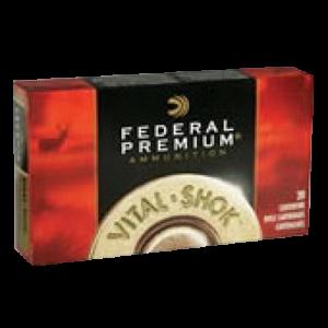 Federal Cartridge Vital-Shok Medium Game .270 Winchester Short Magnum Trophy Copper, 140 Grain (20 Rounds) - P270WSMTTS