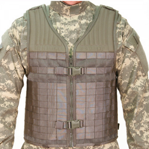 STRIKE - Elite Vest  S.T.R.I.K.E. - Elite Vest, Black, Made of heavy-duty nylon mesh for maximum breathability, Adjustable for length and girth; up to 6 length, addl 32 girth, Side release buckle / web style girth adjustment, Emergency cut away shoulder s