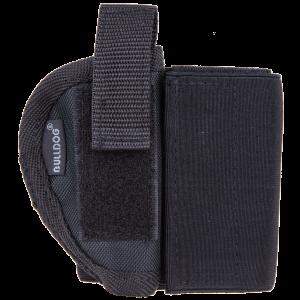 Bulldog WANK20R 20 Black Elastic/Velcro - WANK20R