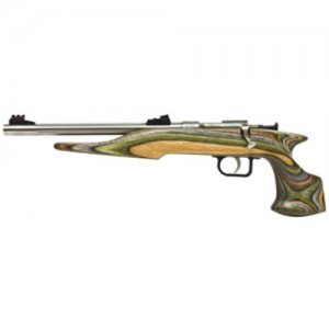 "Crickett Hunter .22 Long Rifle 1+1 10.5"" Pistol in Stainless - 40105"