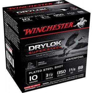 "Winchester Drylok Waterfowl .10 Gauge (3.5"") BB Shot Steel (250-Rounds) - XSC10BB"