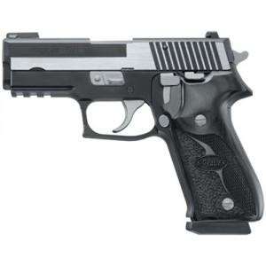 "Sig Sauer P220 Carry Equinox .45 ACP 8+1 3.9"" Pistol in Two Tone Black Nitron (Wood Grip) - 220R345EQ"