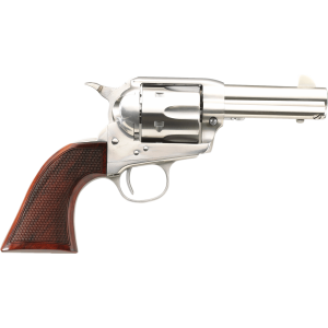 "Taylors & Co 1873 .357 Remington Magnum 6-Shot 4.75"" Revolver in Stainless (Runnin Iron) - 4206"