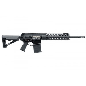 "Patriot Ordnance Factory P308 .308 Winchester/7.62 NATO 20-Round 16.5"" Semi-Automatic Rifle in Black - 642"